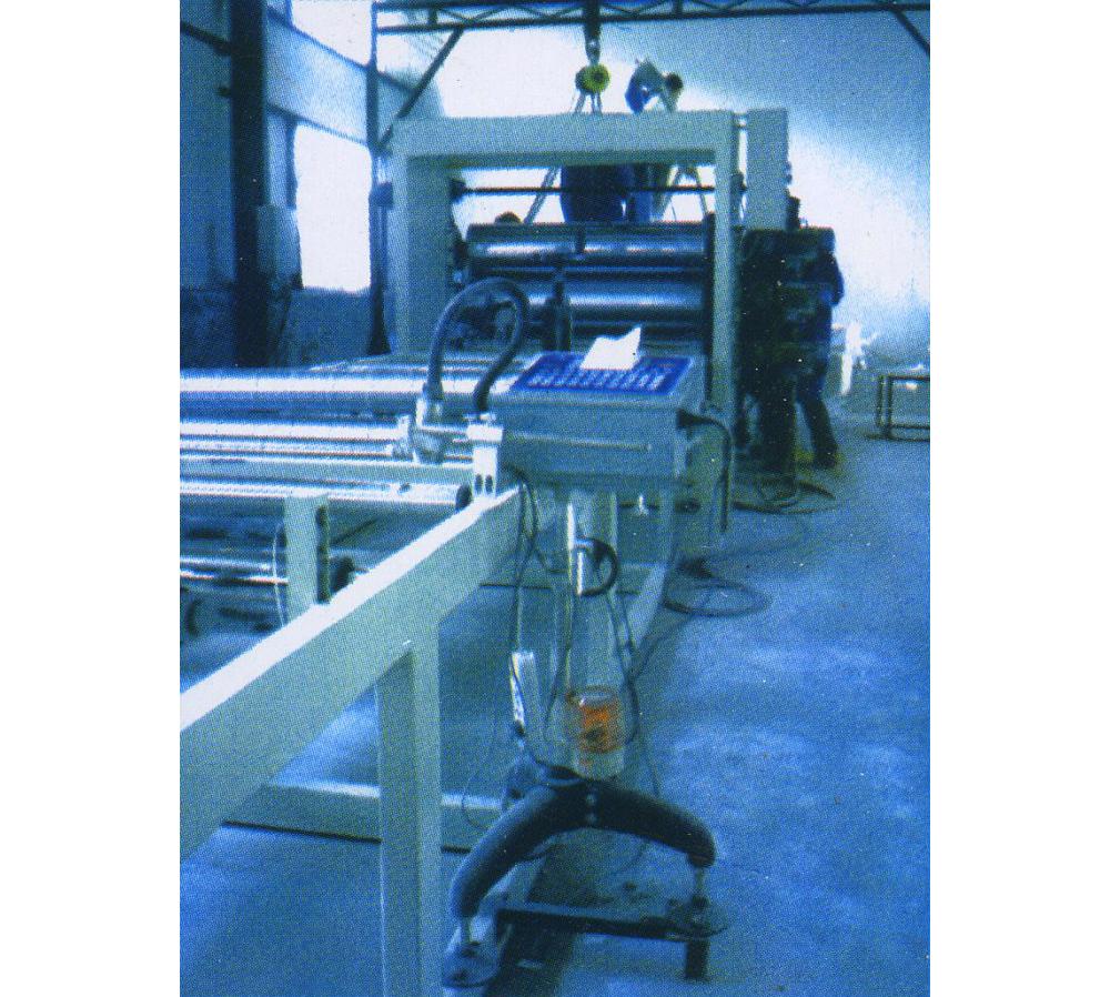 复合板专用PVC卷材机