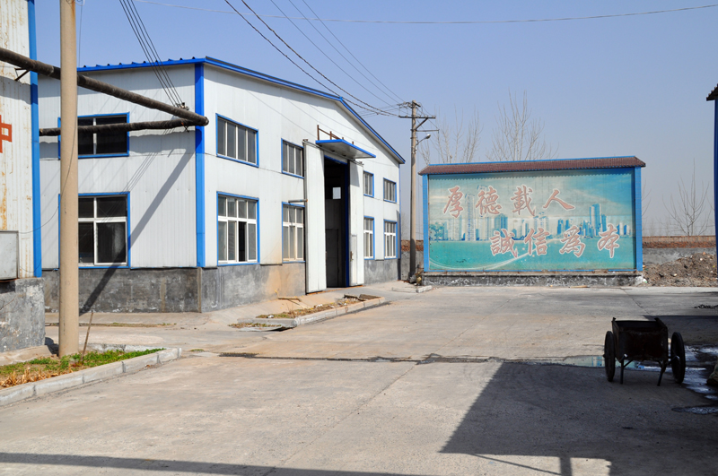 中原泡沫厂生产环境