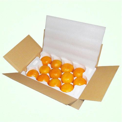 橘子泡沫箱_水果专用